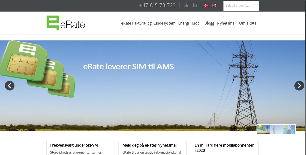 eRate | eMester - Web Workshop with Style